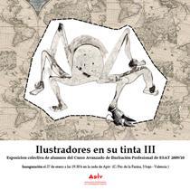 Cartel de Ilustradores en su tinta III