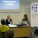 Un instante de las ponencias sobre la Ilustración en España